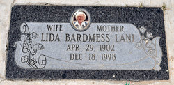 Mrs Lida Beatrice <i>Bardmess</i> Lani