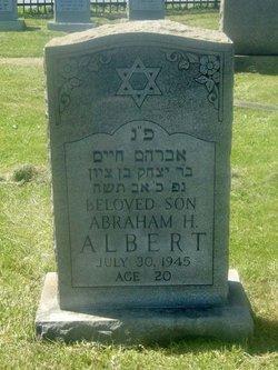 Abraham H Abe Albert