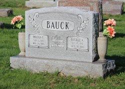 Lucille A <i>Baumann</i> Bauck