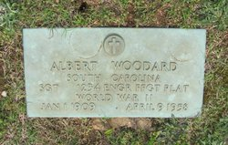 Sgt Albert Woodard