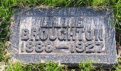 Priscilla Ann Lillie <i>Buckman</i> Broughton