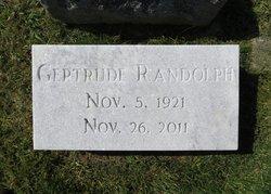 Gertrude <i>Sosby</i> Randolph