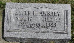 Ester H <i>Hadley</i> Awbrey