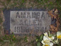 Amanda <i>Sewell</i> Allen