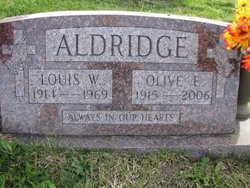 Olive Ethel <i>George</i> Aldridge