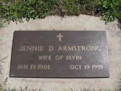 Jennie D <i>Rinehart</i> Armstrong