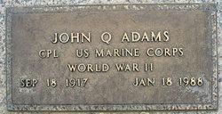 Corp John Quincy Adams