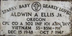CPL Aldwin Ardean Sparky Ellis, Jr