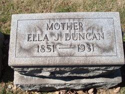 Ella J. <i>Kimmins</i> Duncan
