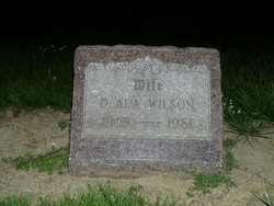 Della Ada <i>Leedham</i> Wilson