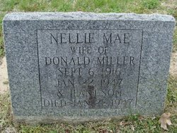 Nellie Mae <i>McCulley</i> Miller