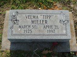 Velma A. Tipp <i>Green</i> Miller