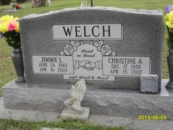 Christine Allyne <i>Robinson</i> Welch