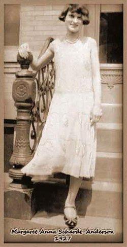 Margaret Anna Nanna <i>Schardt</i> Anderson