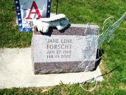 Jane <i>Lehr</i> Forscht