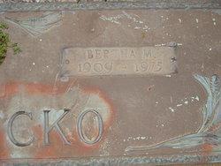 Bertha M Petrocko