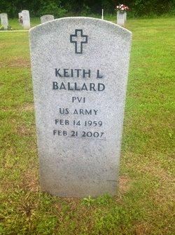 Pvt Keith L Ballard