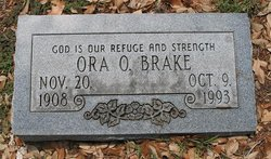 Ora Othella <i>Hart</i> Brake
