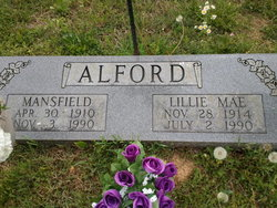 Lillie Mae <i>Anderson</i> Alford