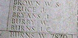 Private William Burby