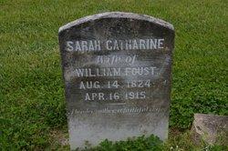 Sarah Catherine <i>Albright</i> Foust