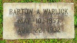 Bartow Alexander Warlick, Sr