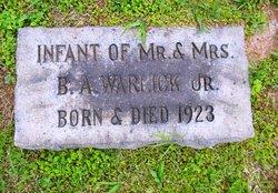Infant Son Warlick