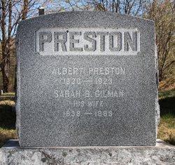 Sarah E <i>Gilman</i> Preston