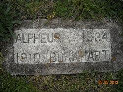 Alpheus Burkhart