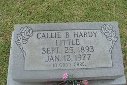 Callie B. <i>Hardy</i> Little