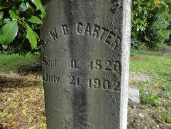 Rev William Blount Carter