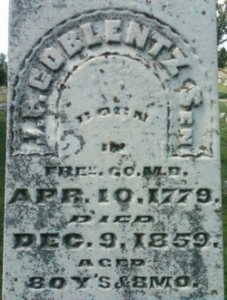 John Philip Coblentz, Sr