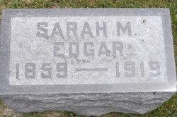 Sarah Melinda <i>Lucas</i> Edgar