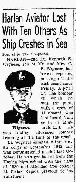 Kenneth Eugene Wigness