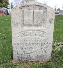 Phila A. <i>Pierce</i> Benedict