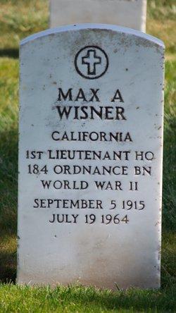 Max A Wisner