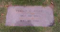 Peggy Nell <i>Chappell</i> Creel