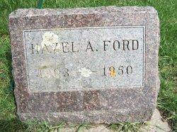 Hazel A. <i>Hudson</i> Ford