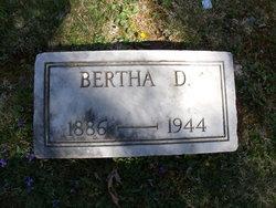 Bertha D Burd