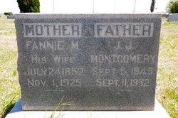 Frances Malvinia Fannie <i>Meers</i> Montgomery