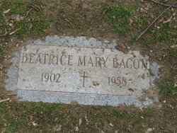 Beatrice Mary <i>LaForce</i> Bacon