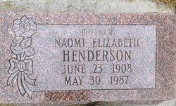Naomi Elizabeth <i>McQuitty</i> Henderson