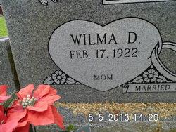 Wilma D Smith
