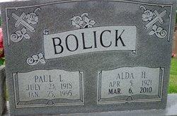Alda Leona <i>Hefner</i> Bolick