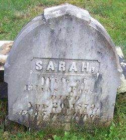 Sarah A <i>Haskell</i> Foss