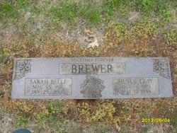 Sarah Belle Brewer