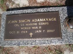 John Simon Adamavage
