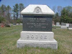 Esther E. <i>Haskell</i> Bodge
