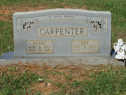 Pearl <i>Cawthon</i> Carpenter