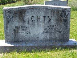 Alice <i>Wolf</i> Lichty